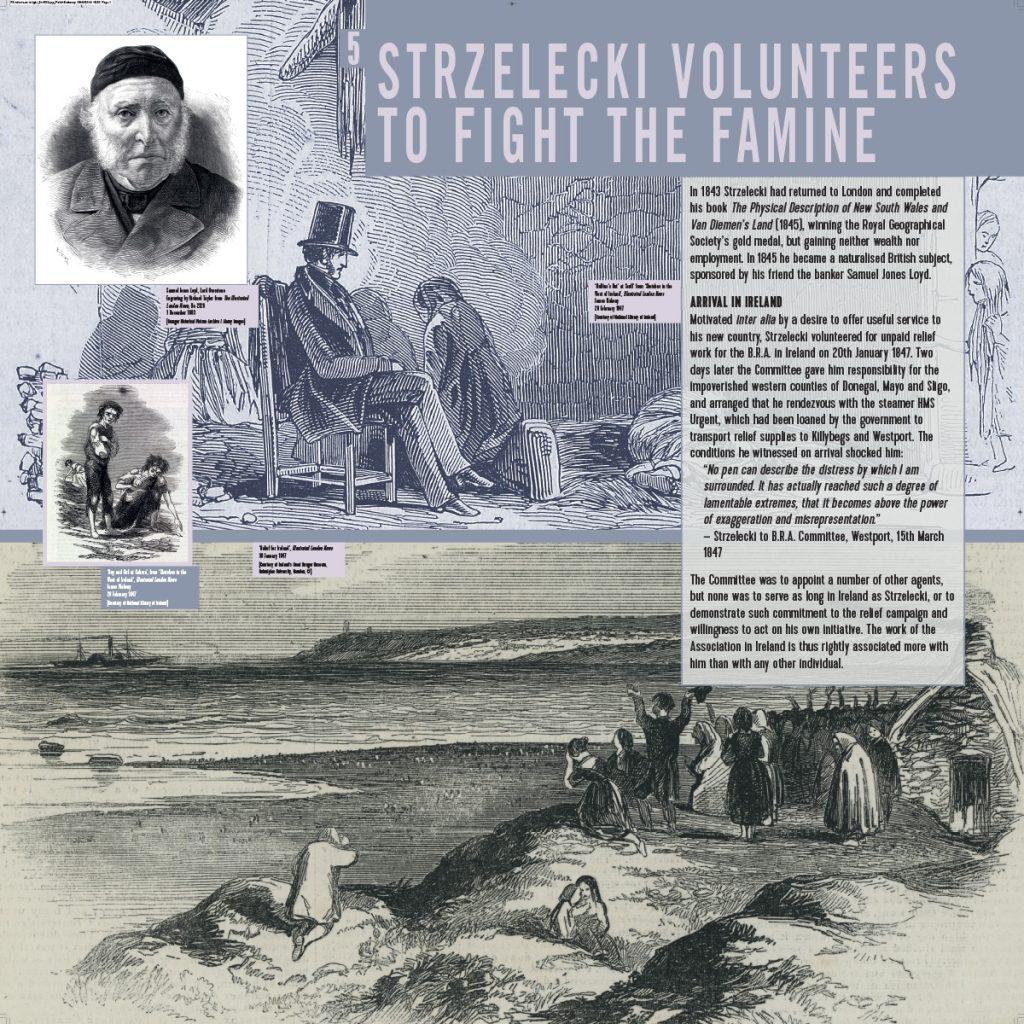 Exhibition | Strzelecki volunteers to fight the famine
