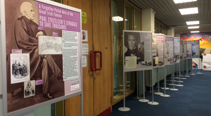 Exhibition now on view in Central Library, ILAC Centre