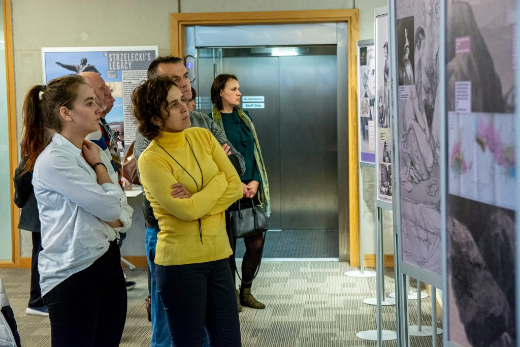 Strzelecki exhibition conquers County Wicklow 1
